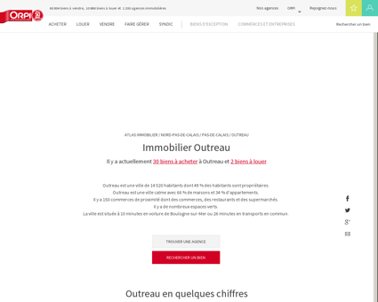 Immobilier Outreau - Biens immobiliers...