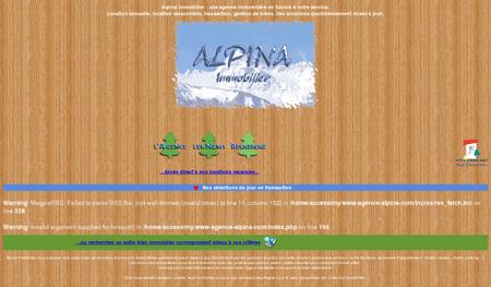 Agence immobilière Alpina immobilier en...