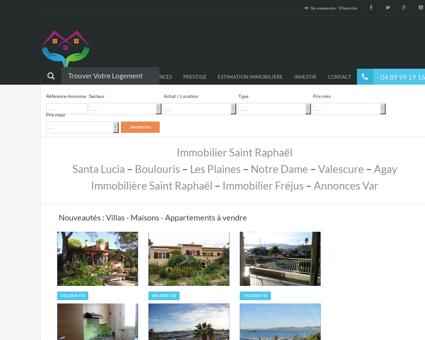 Agent Immobilier Saint Raphaël