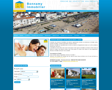 Bonnamy Immobilier - Agence immobilière à...