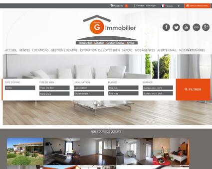Groupe G Immobilier, L'immobilier à...