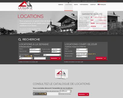Locations | La Clusaz Immobilier