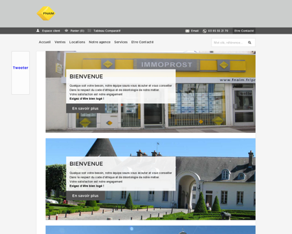 Agence IMMOPROST - Immobilier LE...