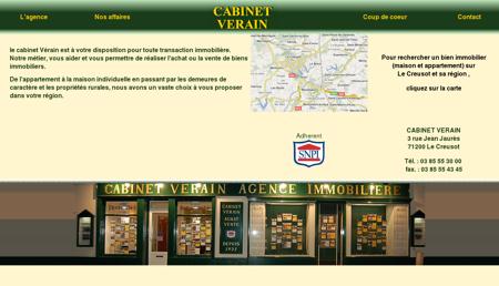 Cabinet Verain agence immobilière à Le...