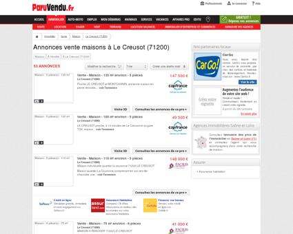 Vente maison à Le Creusot (71200) : annonces...
