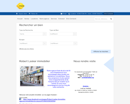 ROBERT LASKAR IMMOBILIER - Agence...