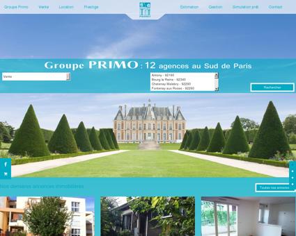 PRIMO Immobilier - Agences immobilières