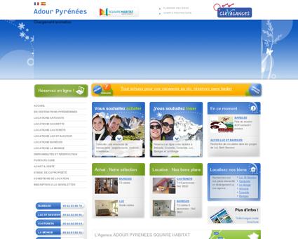 Agence Adour Pyrénées - Locations de...