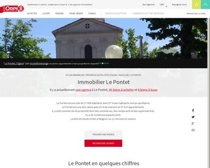 Immobilier Le pontet - Biens immobiliers...