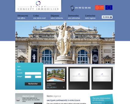 Groupe Concept Immobilier