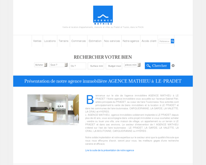 Agence Mathieu - L'immobilier au Pradet
