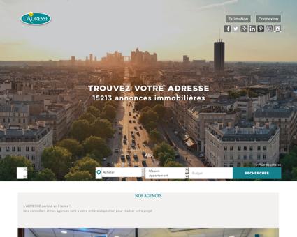immobilier Paris, Marseille, Strasbourg,...