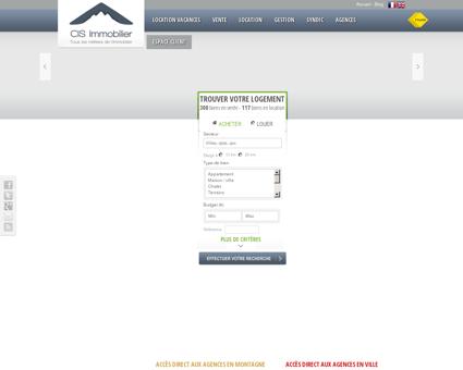 CIS Immobilier : réseau de 13 agences...