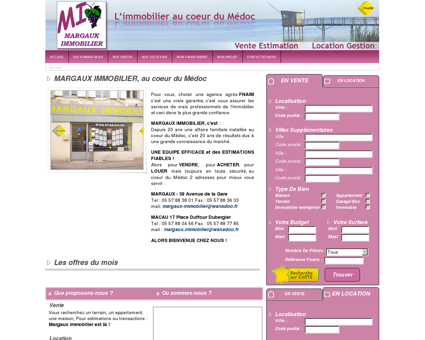MARGAUX IMMOBILIER - immobilier - vente,...