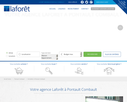 Laforêt immobilier Pontault combault, , Roissy...