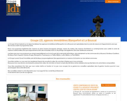 Agence immobilière sur Le Bouscat et...