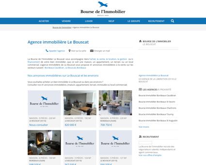 Agence immobilière Le Bouscat - Immobilier,...