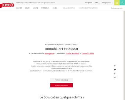 Immobilier Le bouscat - Biens immobiliers...