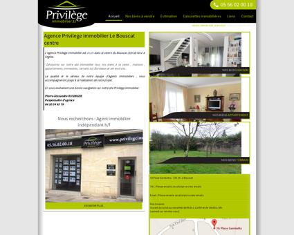 Agence immobilière Le Bouscat 33 - Vente...