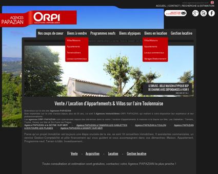Agences immobilières Toulon, La Seyne sur...