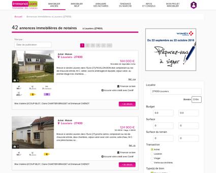 Achat Maison Louviers (27400) | Vente...