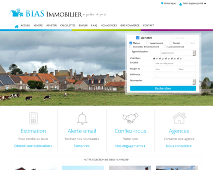 BIAS IMMOBILIER agence immobiliere : BIAS...