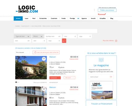 Maison à vendre L Isle en Dodon (31230) -...