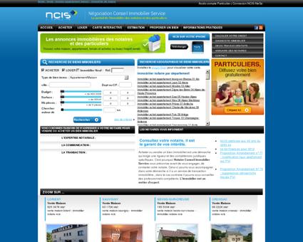 NCIS Immobilier : Annonces immobilières de...