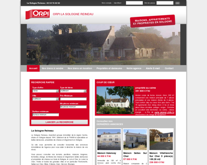 Agence immobilière à Romorantin :...
