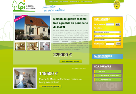 La Plaine Immobilier, mon projet immobilier...