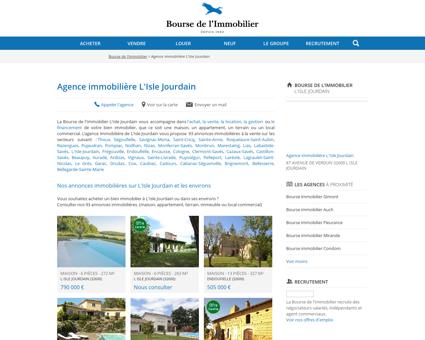 Agence immobilière L'Isle Jourdain -...