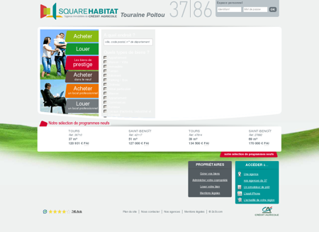 Square Habitat Touraine Poitou 37|86 -...