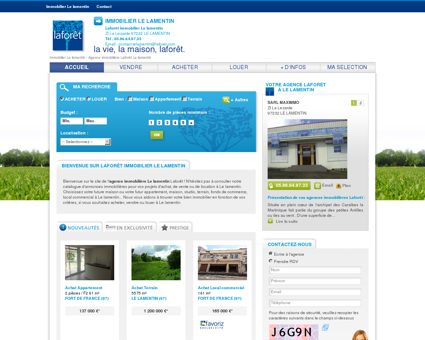 Immobilier Le lamentin - Agence immobilière...