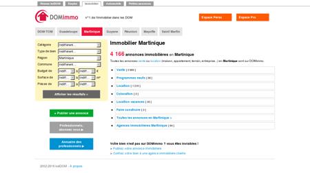 Immobilier Martinique - annonces...