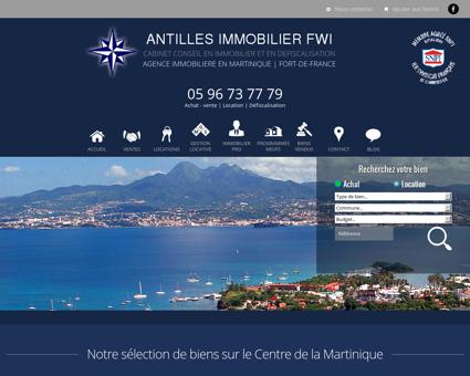 Antilles Immobilier FWI : achat, vente et...