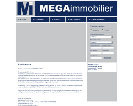 MEGA Immobilier - AGENCE IMMOBILIERE -...