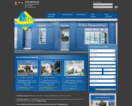 immobilier Vitre, Etrelles, La Chapelle Erbree,...