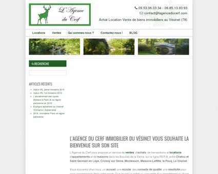 LAGENCE DU CERF Immobilier du Vésinet...