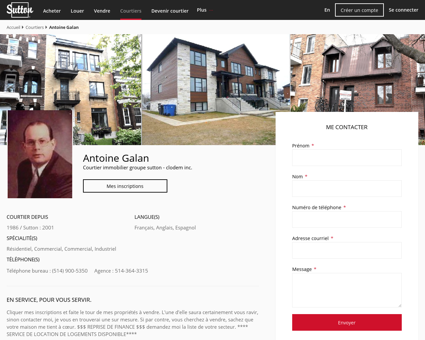 Antoine Galan - Courtier immobilier LaSalle |...
