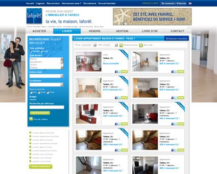location appartement, maison à Tarbes - page 1