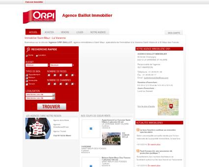 Orpi Agence Baillot Immobilier Saint Maur - La...