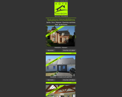 Immobilier Fresnay-sur-Sarthe - Agence...