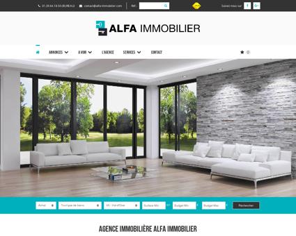 Agence immobilière ALFA IMMOBILIER à...
