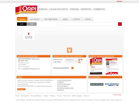 Orpi Entreprises : Immobilier Entreprise, Achat,...