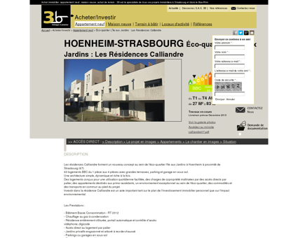Immobilier Hoenheim - Strasbourg |...