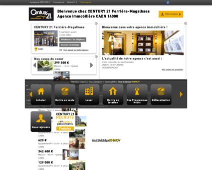Agence immobilière CAEN CENTURY 21...