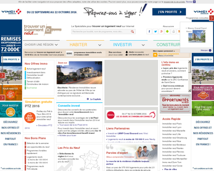 Immobilier neuf 5792 programmes...