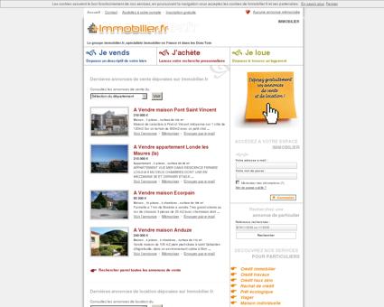 immobilier en France avec immobilier.fr