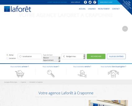 Immobilier Craponne - Laforêt Ouest Lyonnais