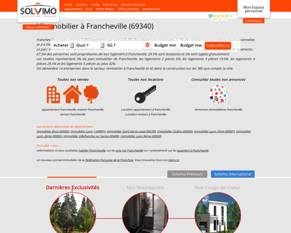 Immobilier Francheville Solvimo